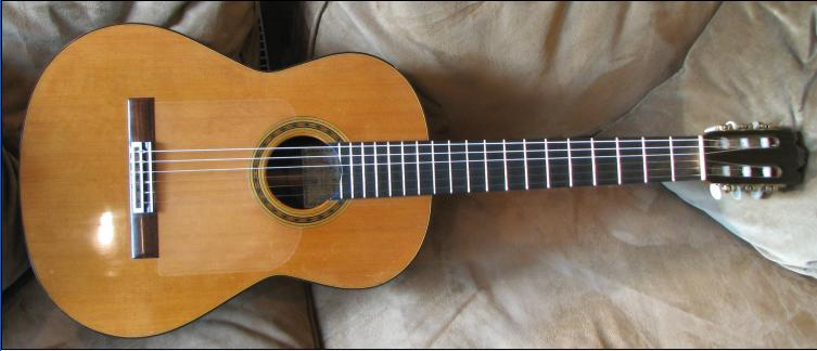 Picture of acoustic guitar - 2007 Tom Blackshear Classical guitar