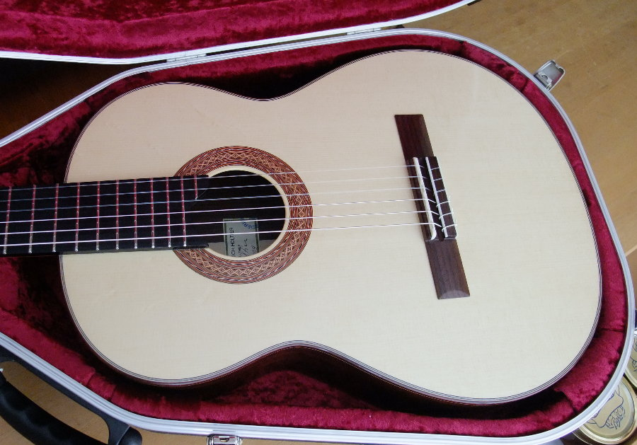 Picture of acoustic guitar - (SOLD) Classical 2009 HOLTIER Concert