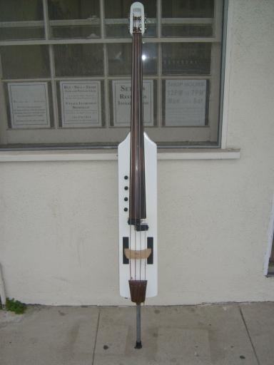 Picture of bass guitar - Early Carruthers SUB Upright Electric Bass EUB