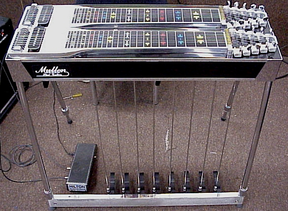Picture of steel guitar - Mullen D-10 Pedal Steel Guitar