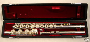 Picture of flute - Jupiter Flute - Open Hole- Silver Body- JFL-711R