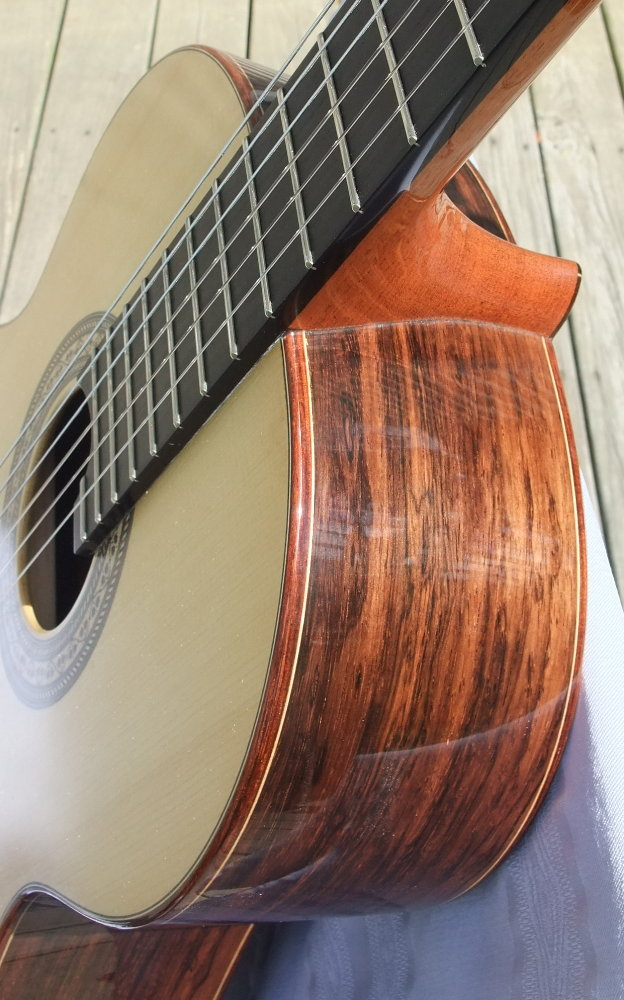 Picture of acoustic guitar - New Classical HOLTIER Concert Double Top (All wood)
