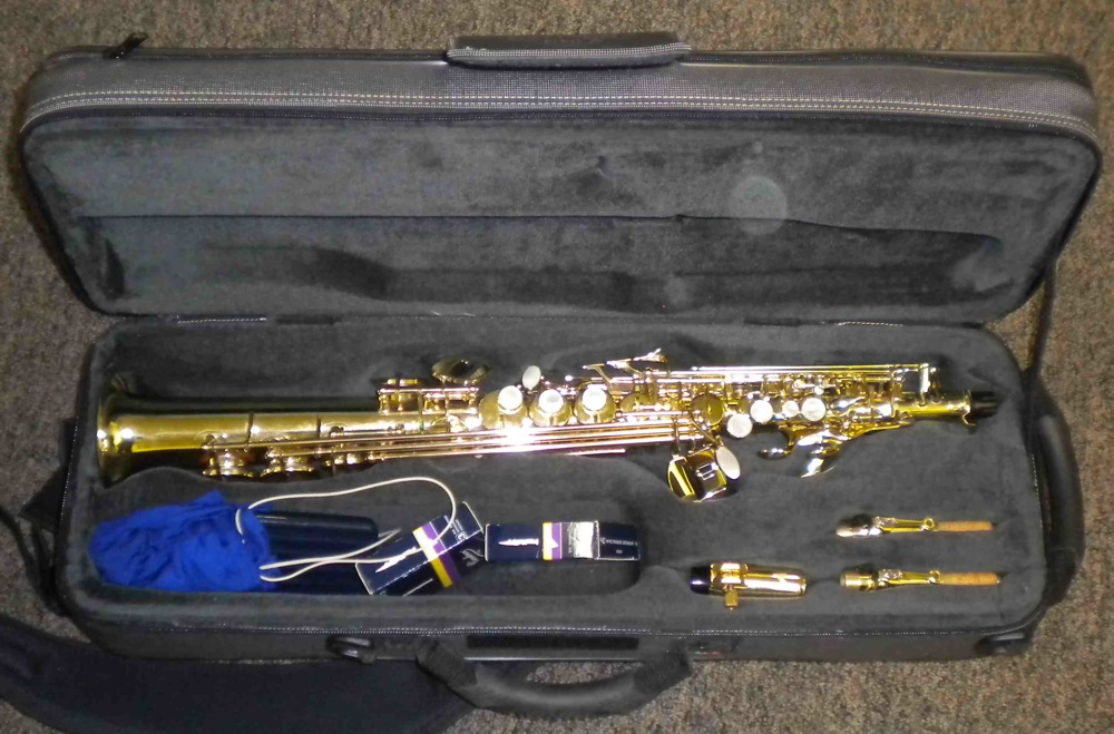 Picture of saxophone - Selmer Serie III Soprano