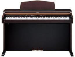 Picture of electric piano - Selling piano for finance problems