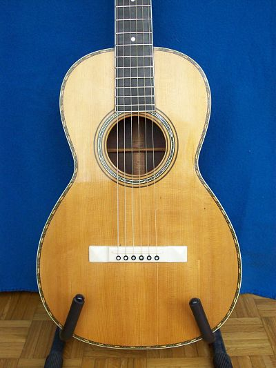 Picture of acoustic guitar - Martin Style 1-34 built 1867-1898
