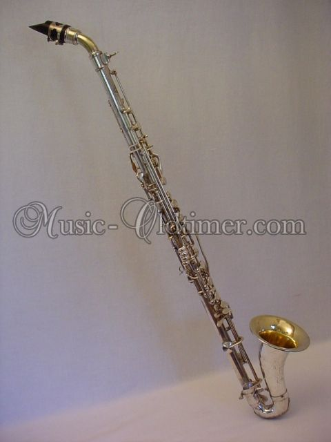 Picture of clarinet - Silver full metal Pedler Alto Clarinet www.music-oldtimer.com