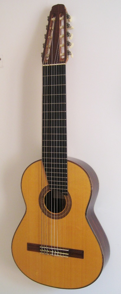 Picture of acoustic guitar - 10-String acoustic guitar by Jaroslav Mach -1980