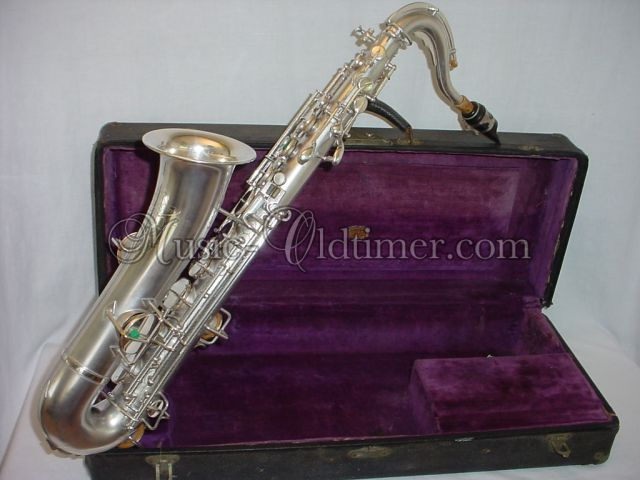 Picture of saxophone - vintage Buescher C-Melody Saxophone - www.music-oldtimer.com