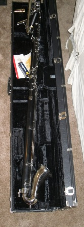 Picture of bass clarinet - Leblanc/Vito 7182 Contrabass Clarinet
