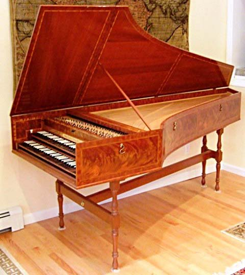 Description: Harpsichord, Clavichord for sale - W.P.Ross Franco ...