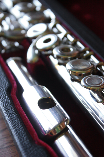Picture of flute - Jupiter 611R w/ Silver Head-Excellent Condition!