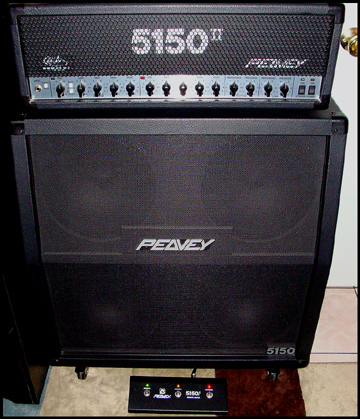 amplifier for sale 5150 ii peavey half stack. Black Bedroom Furniture Sets. Home Design Ideas
