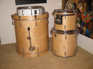 Picture of drum kit - Custom Truth Drum Set - Maple Wood
