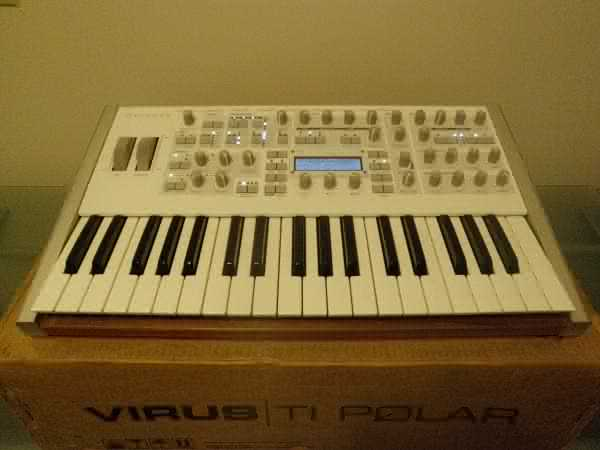 Picture of electronic keyboard instrument - Sell Access Virus TI Polar