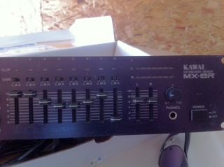 Picture of mixer - Kawai MX-8R Keyboard Mixer