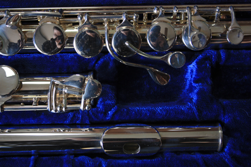 Picture of flute - Gemeinhardt 10AS (11AS) Alto Flute-Near New!