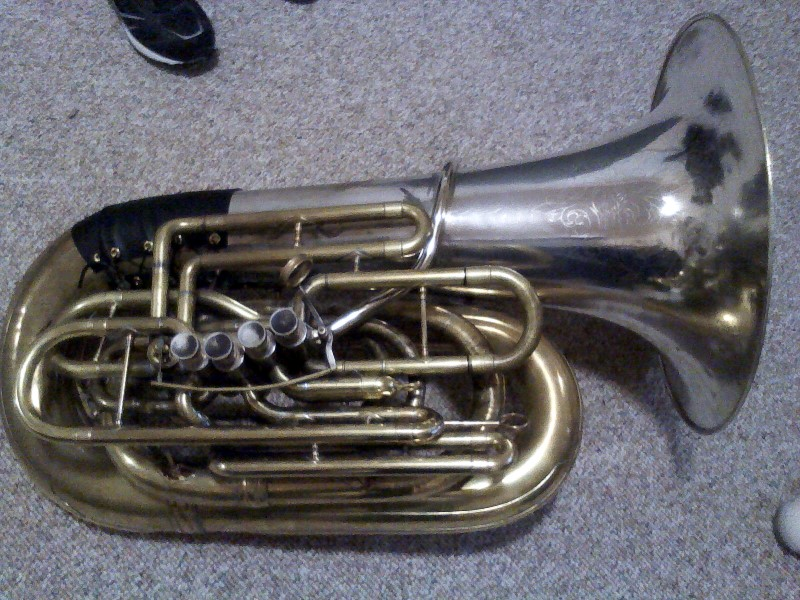 Picture of tuba - For Sale Gnagey York 4/4 (4thPrice drop)