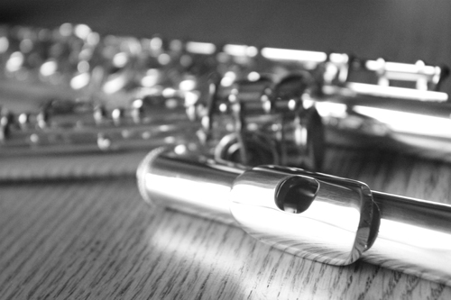 Picture of flute - Altus 807 w/ Sterling Lip and Riser