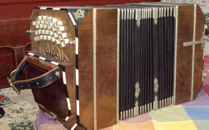 Picture of bandoneon - AA small standard 1940