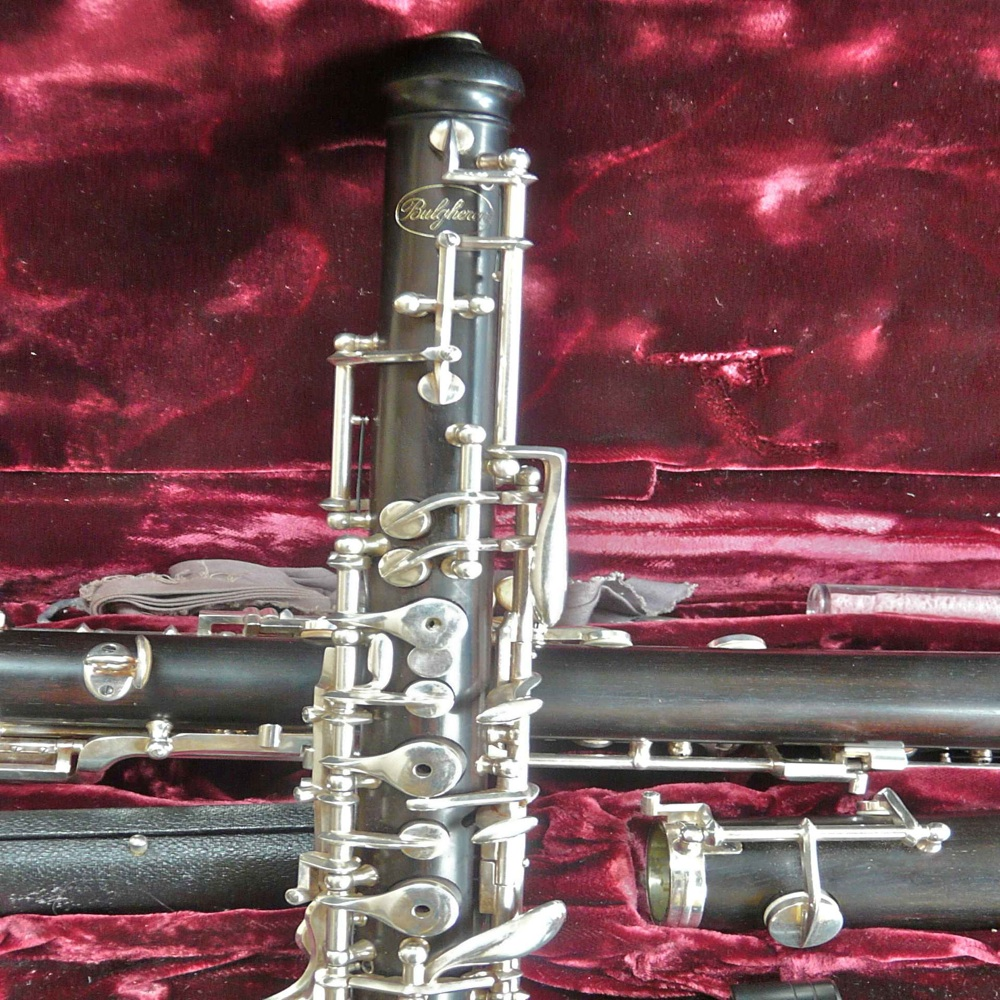 Picture of oboe - Beautiful Bulgheroni Oboe! Excellent condition, never been cracked!