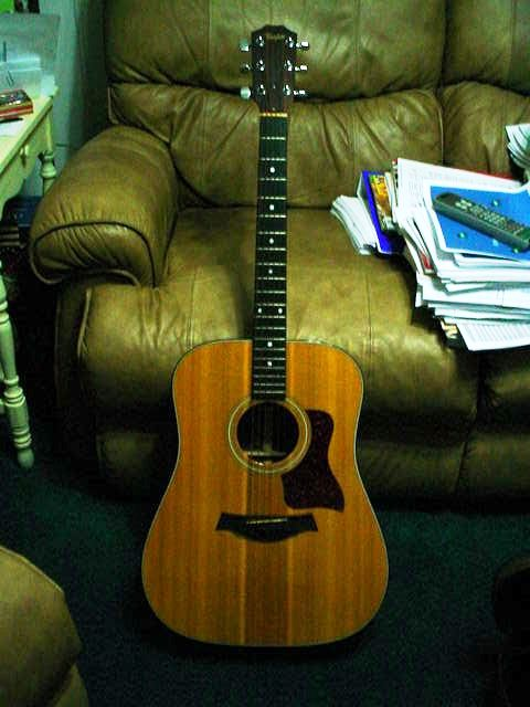 Picture of acoustic guitar - 1989 Taylor 510