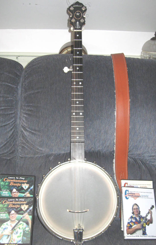 Picture of banjo - Banjo Wildwood Clawhammer