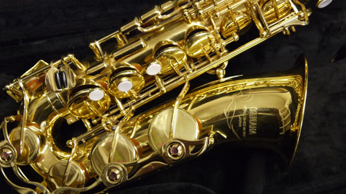 Picture of saxophone - YAS 52 Alto Saxophone - Near New!