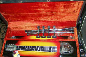 Picture of steel guitar - FENDER VINTAGE 60's PEDAL STEEL GUITAR(s)