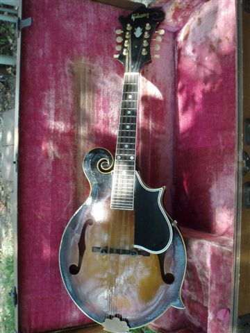 Picture of mandolin - Gibson 1956 F-12 Mandolin