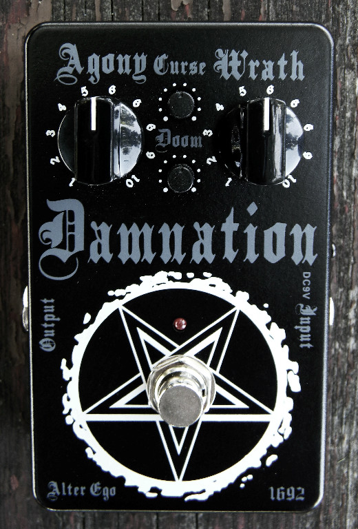 Picture of effect - Alter Ego Effectors Damnation Limited Edition distortion pedal
