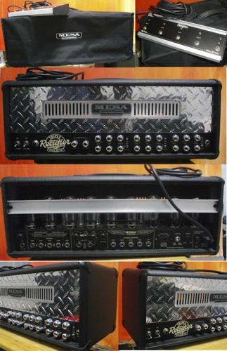 Picture of amplifier - Mesa Boogie Solo Head 150 Triple Rec