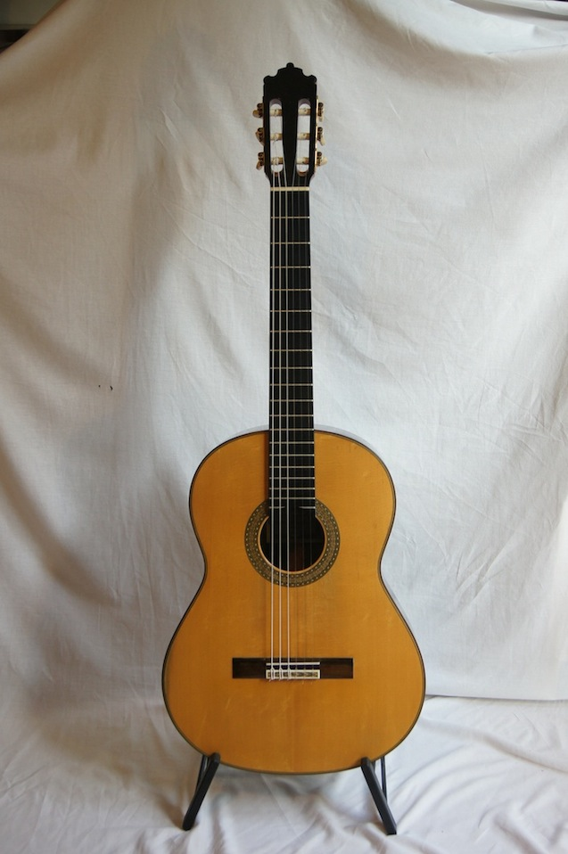 Picture of acoustic guitar - Classical Concert Guitar by Paulino Bernabe Sr 1993