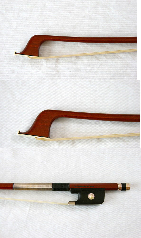 Picture of cello bow - Silver Mounted Cello Bow by Matt Wehling