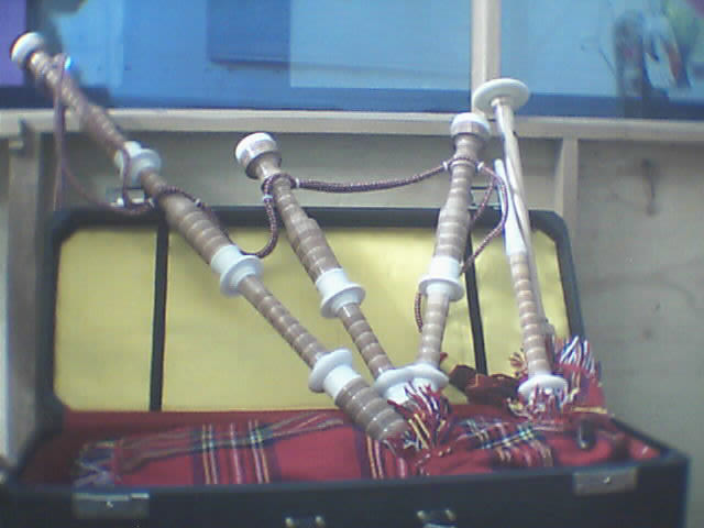 Picture of bagpipes - Bagpipe