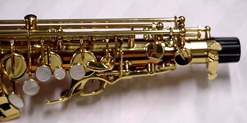 Selmer LaVoix II saxophone model # SAS280RC Copper Brass body and keys