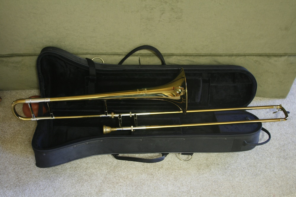 Picture of trombone - Bach Stradivarius Model 12 (Mt. Vernon era)
