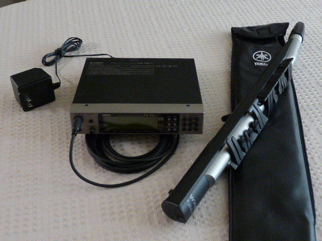 Picture of electronic instrument - Yamaha WX5 & VL50-m