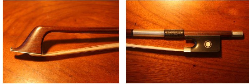 Picture of cello bow - Hill bow stamped Hart&Son