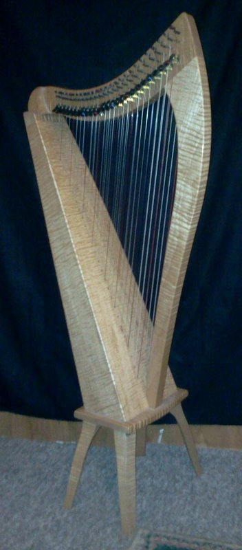 Picture of harp - Dusty Strings FH26 Double Strung Harp