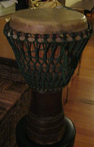 Picture of ethnic instrument - Custom Professional Ivory Coast Djembe