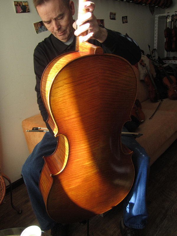 Picture of cello - Big,deep tone that matters