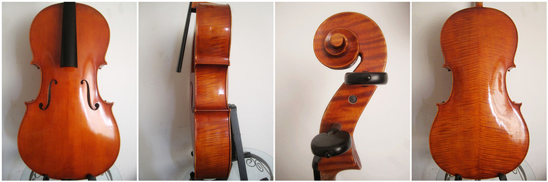 Picture of cello - Hill Model Pegs and Italian Varnish