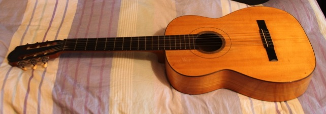 Picture of acoustic guitar - Adolf Meinel Guitar - 1965