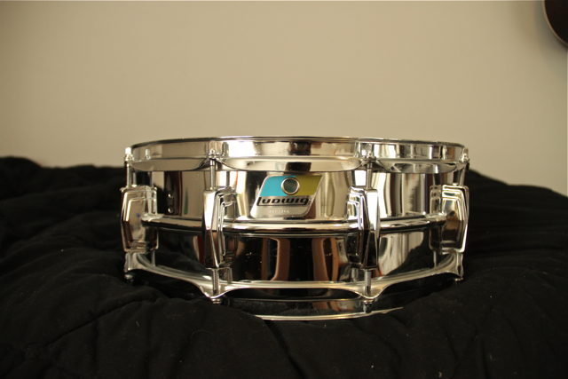 Picture of snare drum - Late 1970's Ludwig Supraphonic Snare 5x14