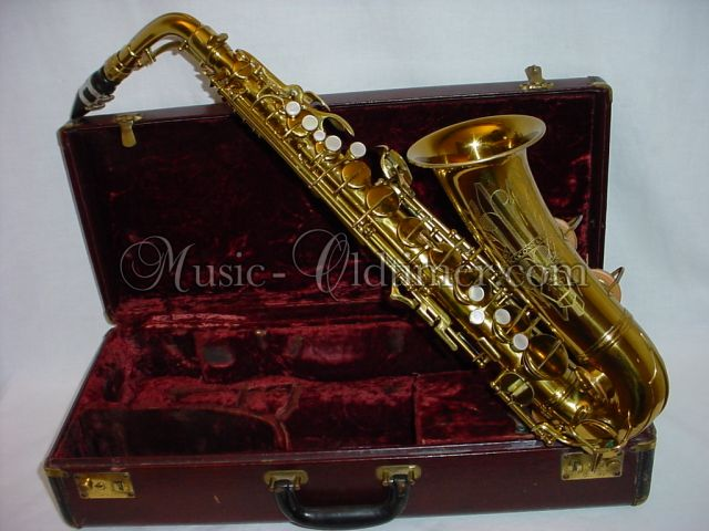 Picture of saxophone - Music-Oldtimer Conn 6M naked Lady Alto Saxophone