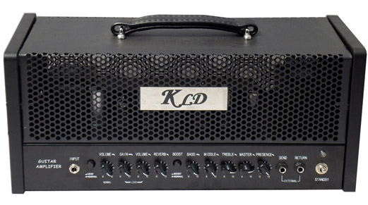 Picture of amplifier - KLDguitar PGA 30 SMPT, Class AB/Class A