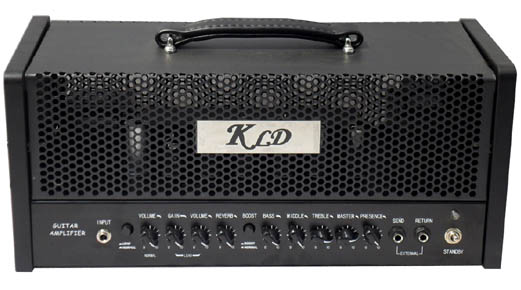Picture of amplifier - KLDguitar GT30 Modern two channels guitar amp head