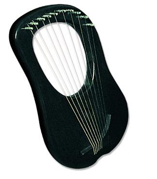 Picture of harp - LYRE HARP