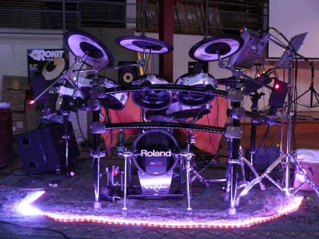 Picture of drum kit - Roland TD-20S V-Pro Electronic Drum Set