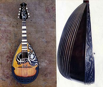 Picture of mandolin - Vintage mandolin wanted: Calace, Embergher, Vinaccia